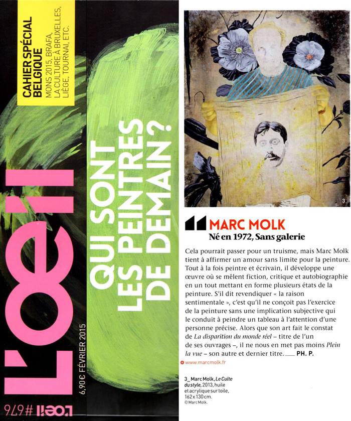 L'OEIL magazine / Who are the painters of tomorrow