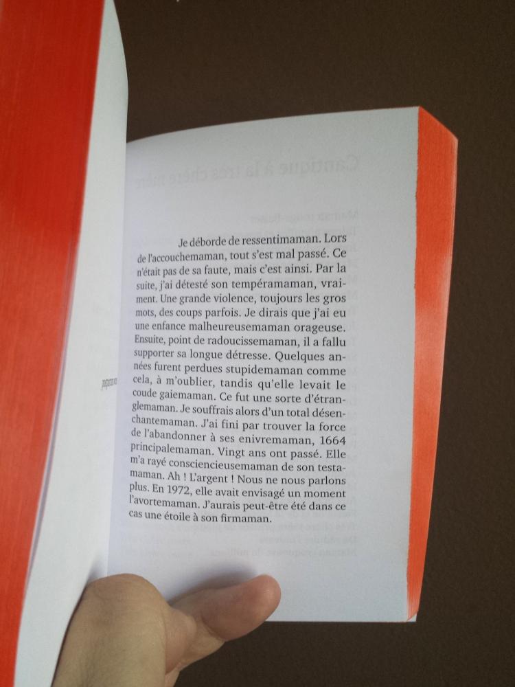 « Maman, la peinture appelle sa maman », Catalogue choral par Fabienne Audéoud, Editions Particules (co-édition), mai 2014