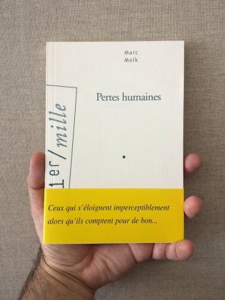 Pertes humaines, Marc Molk, éditions Arléa, 2006