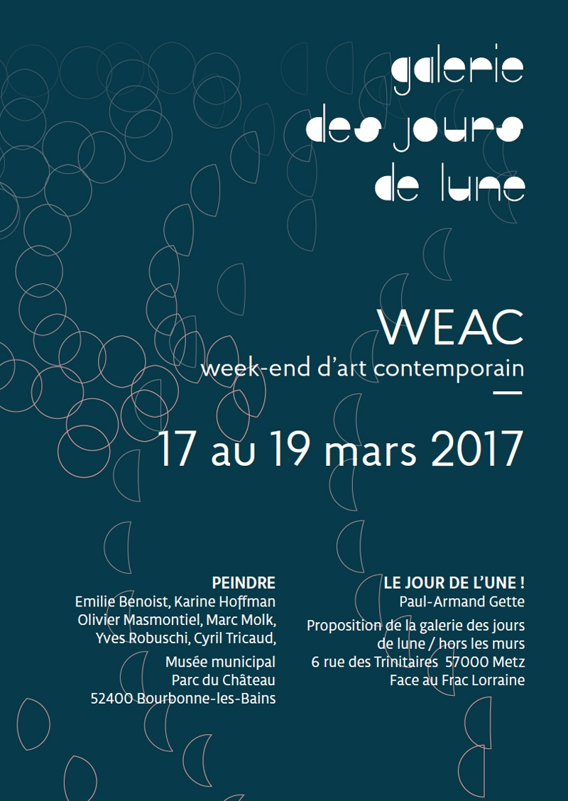 WEAC, Peindre