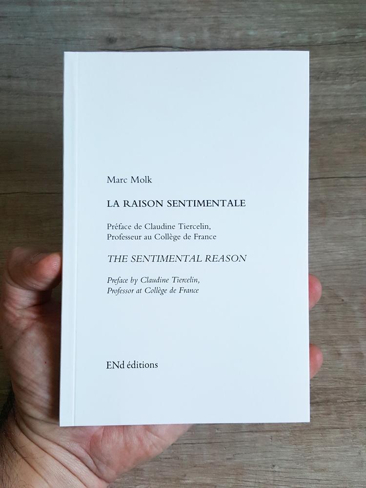 The sentimental reason, Marc Molk, ENd editions, 2017