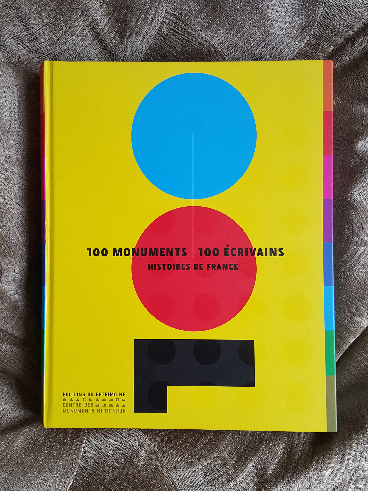 100 monuments, 100 writers / Stories of France, Patrimoine editions, CMN