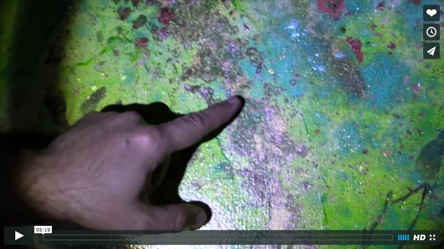 Apolline Alaguillaume : La peinture qui scintille