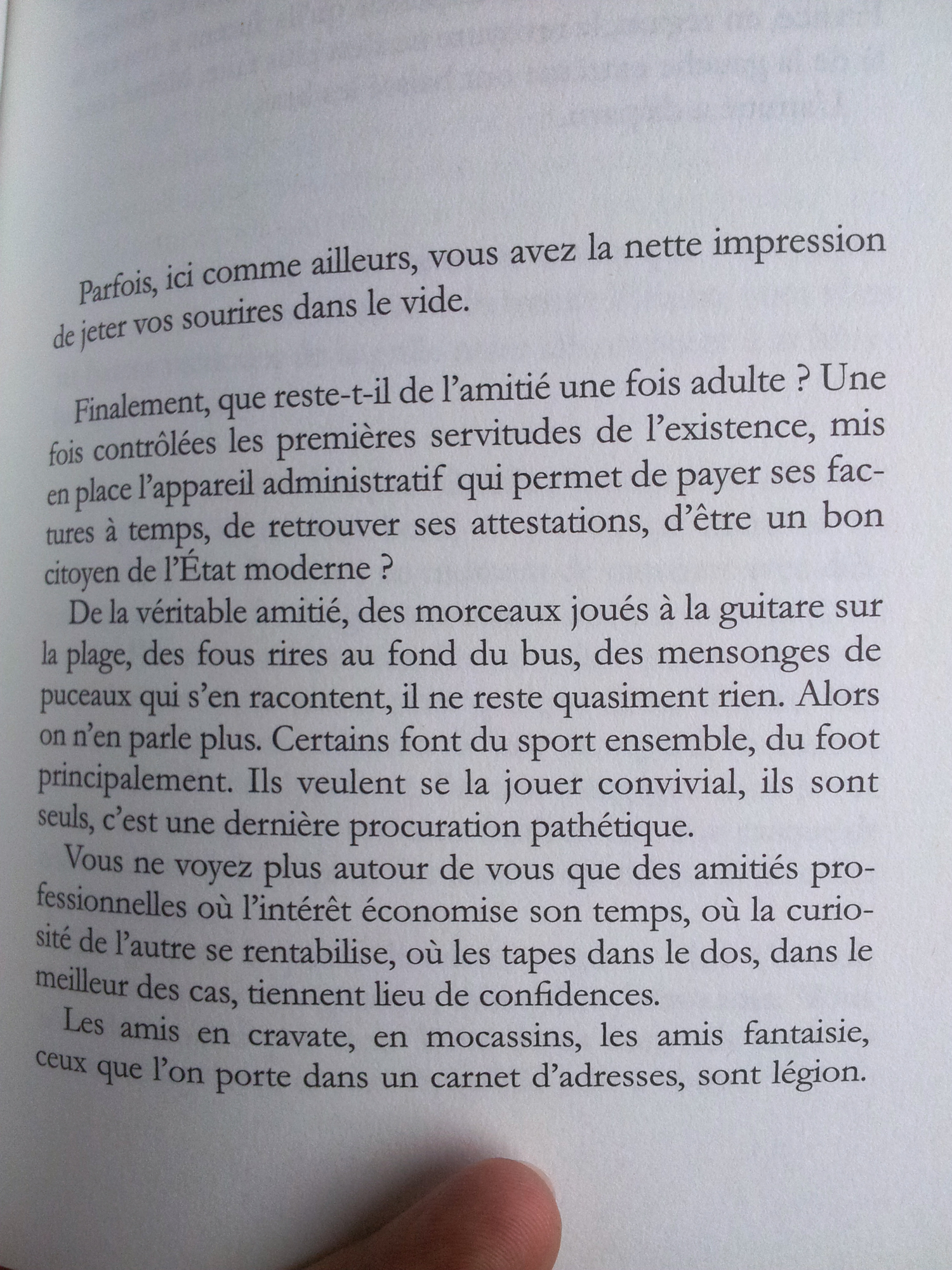 La Disparition du monde réel (page 47), Marc Molk, collection « Qui Vive », éditions Buchet Chastel