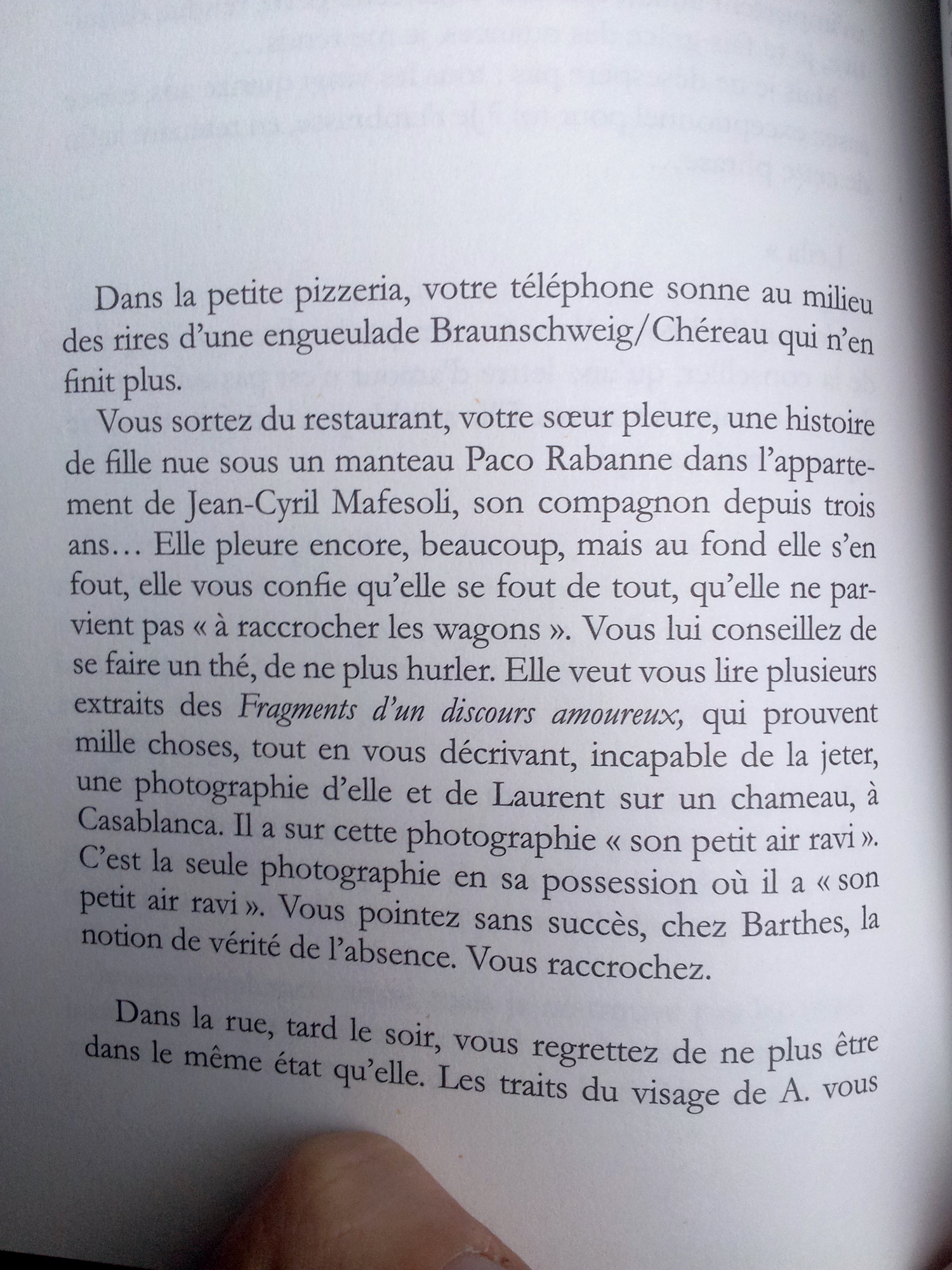 La Disparition du monde réel (page 94), Marc Molk, collection « Qui Vive », éditions Buchet Chastel