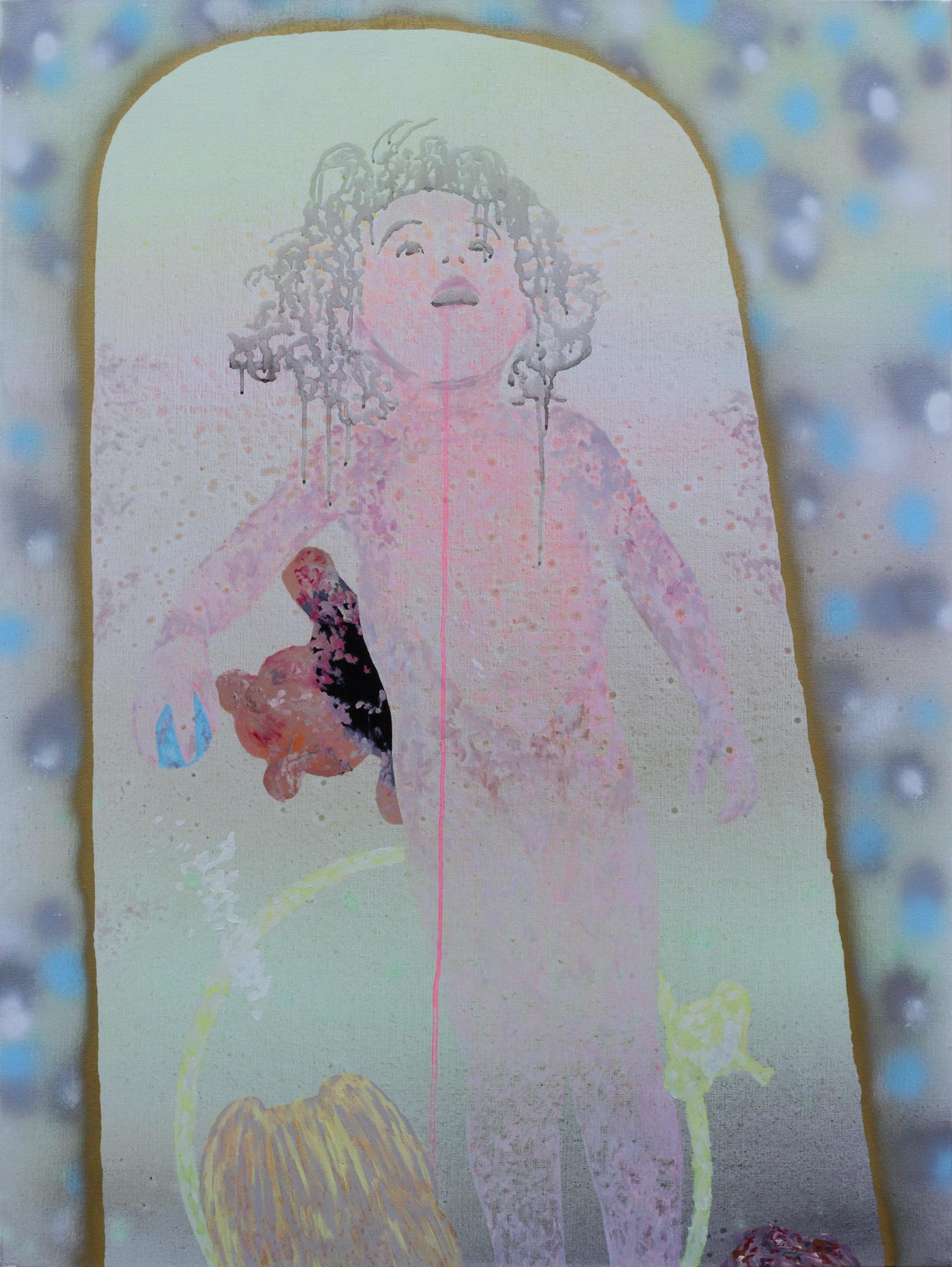 La Marseillaise, Marc Molk, 2008, huile et acrylique sur toile, 130 x 97 cm
