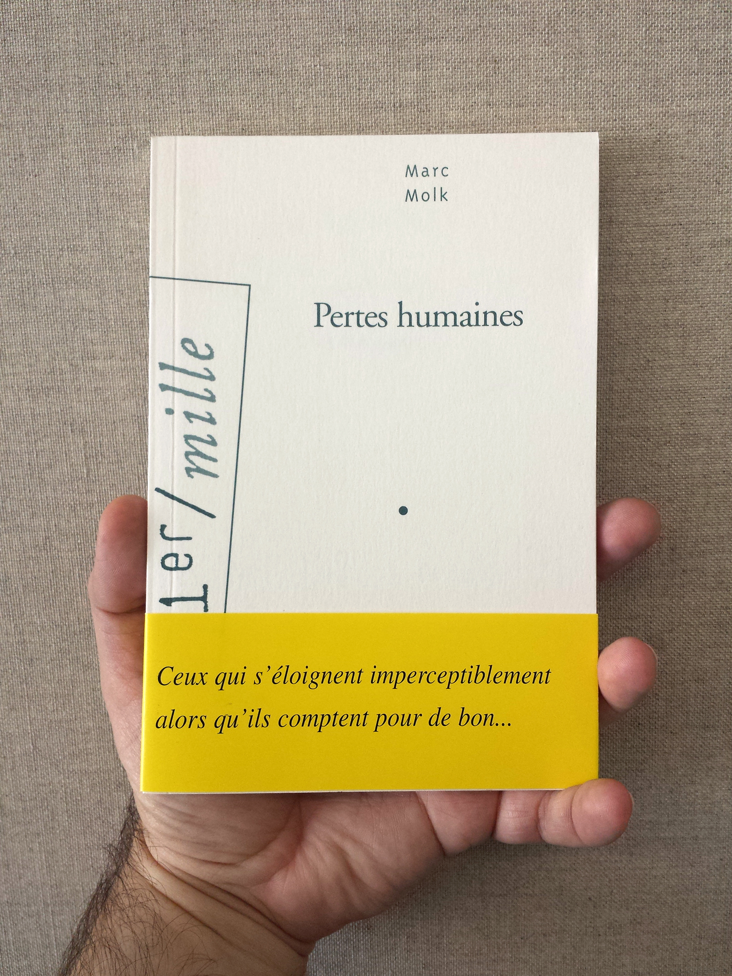 Human casualties, Marc Molk, Arléa editions, 2006