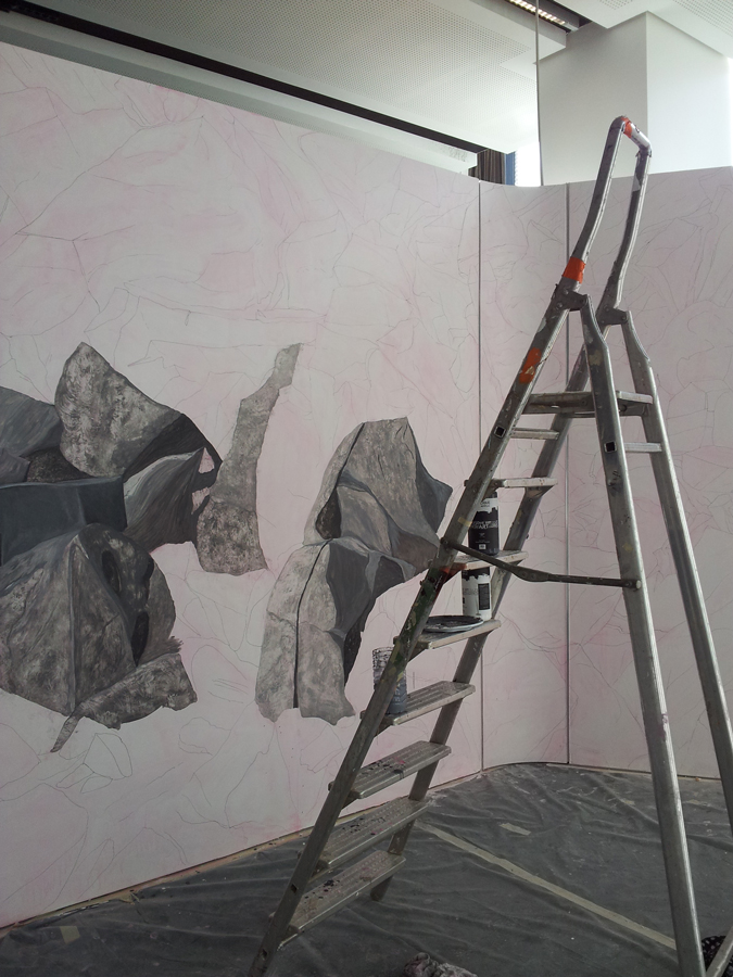 A wall of feelings, 2nd May > 30th May 2012, 57th Salon de Montrouge, Paris