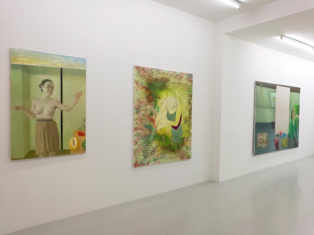 À gauche : Marion Bataillard / Au milieu : Marc Molk / À droite : Marion Bataillard