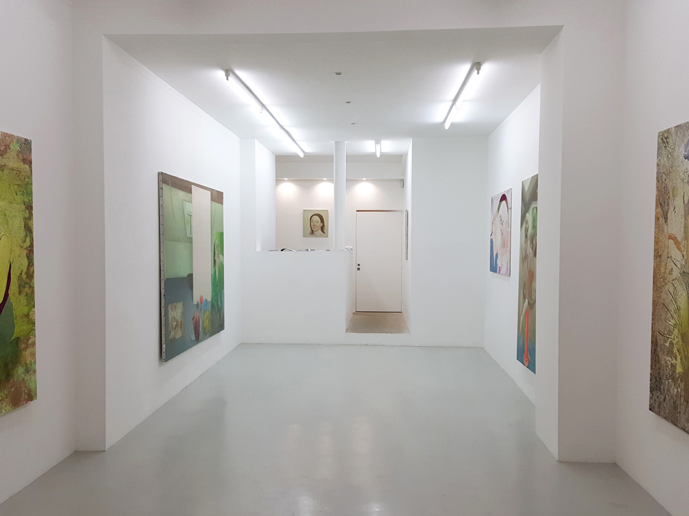 Mix of Marion Bataillard and Marc Molk's paintings