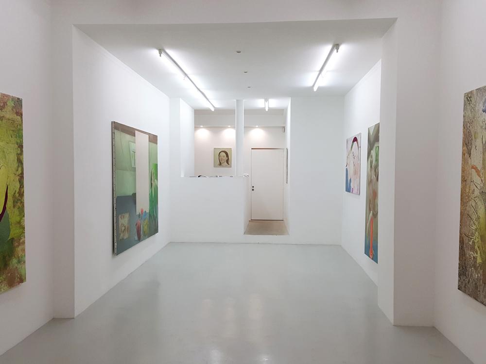 Mélange des peintures de Marion Bataillard et Marc Molk