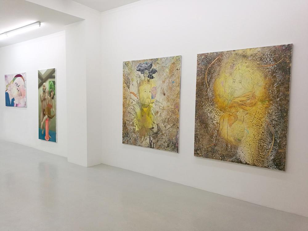 À gauche : Marc Molk / Au milieu : Marion Bataillard / À droite (diptyque) : Marc Molk
