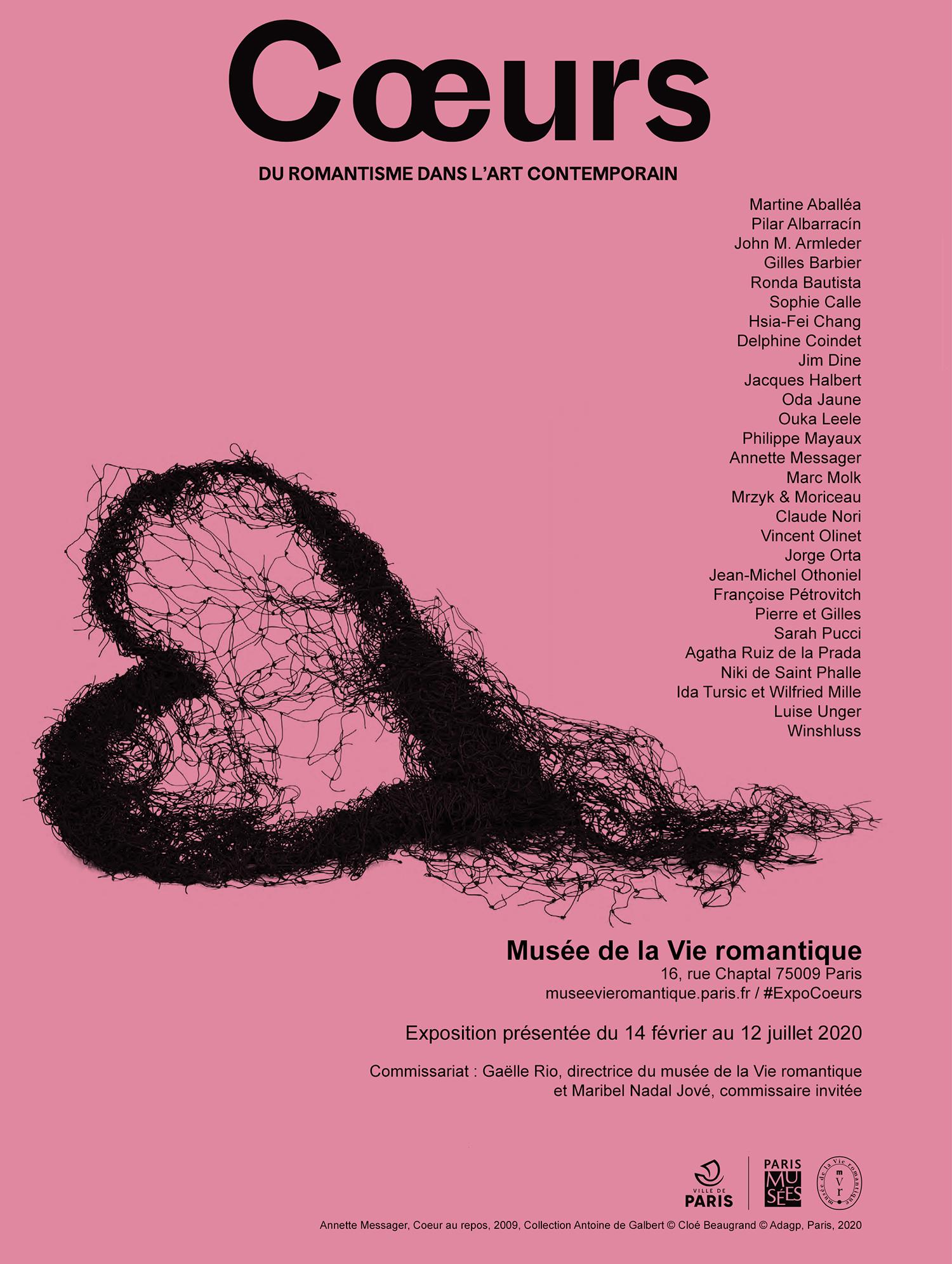 Coeurs, Musée de la vie romantique, Paris